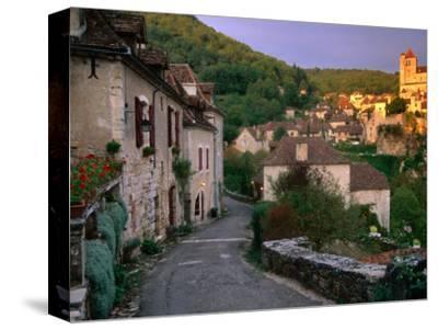 Street Scene, St. Cirq Lapopie, Midi-Pyrenees, France