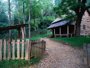 Tipton Place, Cades Cove, Great Smoky Mountains National Park, Tennessee by John Elk III