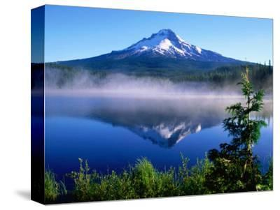 Trilium Lake with Mt. Hood in Background, Mt. Hood, Oregon