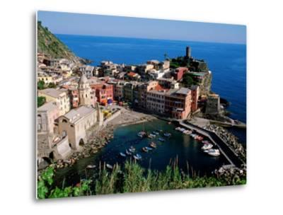 Vernazza and Harbour, Cinque Terre, Liguria, Italy