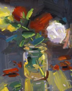 Rose Jar by John Erickson