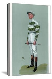 John Evelyn Watts, British Jockey, 1903