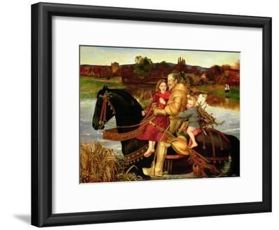 A Dream of the Past: Sir Isumbras at the Ford, 1857
