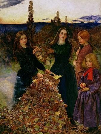 Autumn Leaves, 1856