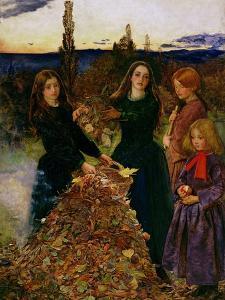 Autumn Leaves, 1856 by John Everett Millais