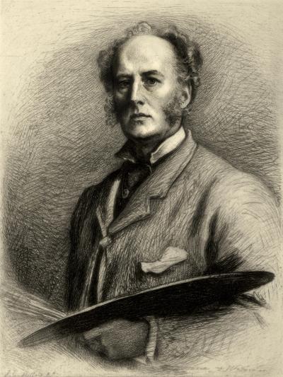John Everett Millais, British Artist, C1880-1882-Charles Waltner-Giclee Print