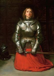 Joan of Arc, 1865 by John Everett Millais