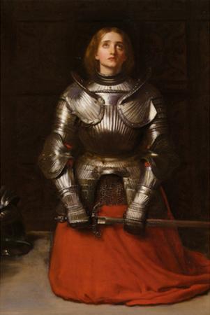 Joan of Arc by John Everett Millais