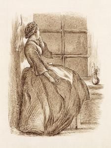 Lost Love, C.1859 (Pen and Ink) by John Everett Millais