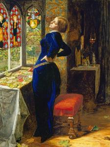 Mariana in the Moated Grange, 1851 by John Everett Millais