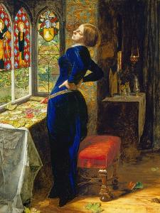 Mariana in the Moated Grange, 1851 by John Everett Millais
