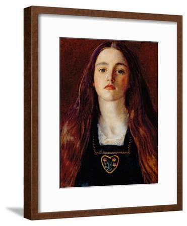Portrait of a Girl, 1857