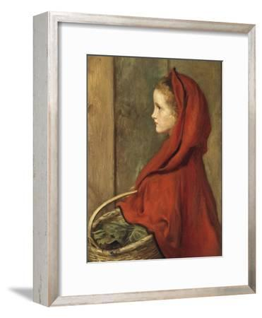 Red Riding Hood (A Portrait of Effie Millais, the artist's daughter)