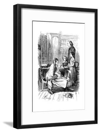 Scene from Framley Parsonage by Anthony Trollope, 1860