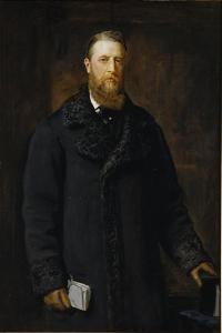Spencer Compton Cavendish, Marquess of Hartington, Later 8th Duke of Devonshire by John Everett Millais