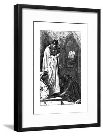 The Bishop and the Knight, 1862