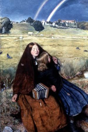 The Blind Girl, 1856