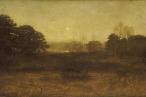 The Moon Is Up, and Yet it Is Not Night by John Everett Millais