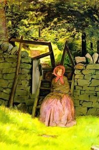 Waiting by John Everett Millais