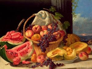 Still Life with Fruit by John F. Francis