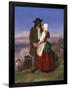 Evangeline and Gabriel by John Faed