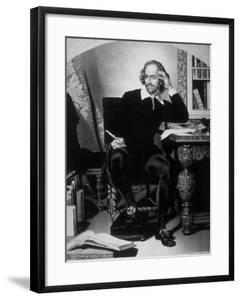 Portrait of William Shakespeare by John Faed