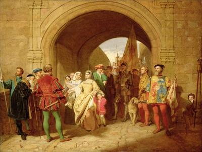 Queen Margaret's Defiance of the Scottish Parliament, 1859
