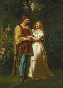 Rosalind and Orlando by John Faed