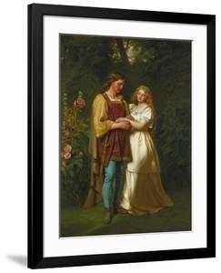 Rosalind and Orlando by John Faed