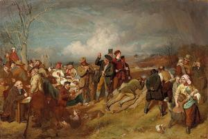 The Wappenshaw: a Shooting Match by John Faed