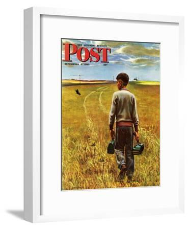 """Amber Waves of Grain,"" Saturday Evening Post Cover, September 8, 1945"