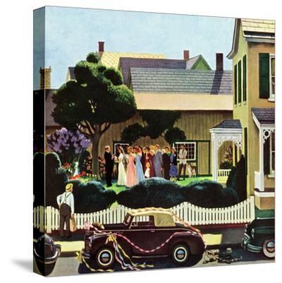 """Backyard Wedding"", June 24, 1950"