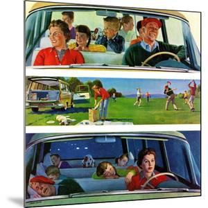 """""""Before, During & After Picnic"""", September 5, 1959 by John Falter"""