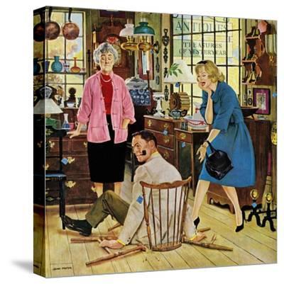 """""""Broken Antique Chair"""", June 20, 1959"""