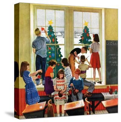 """Classroom Christmas"", December 8, 1951"