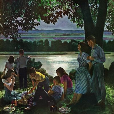 """Evening Picnic,"" June 4, 1949"
