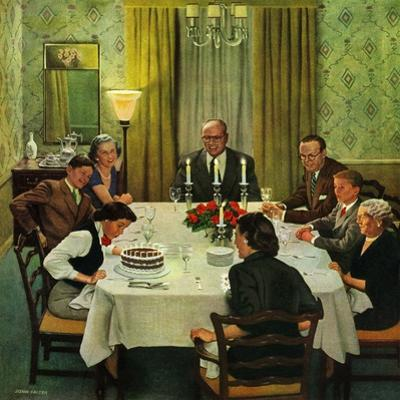"""Family Birthday Party"", March 15, 1952"