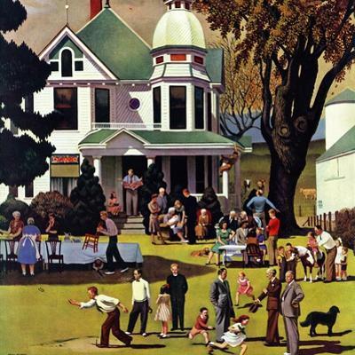 """Family Reunion,"" October 20, 1945 by John Falter"
