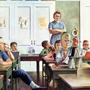 """Future Engineer"", April 4, 1959 by John Falter"