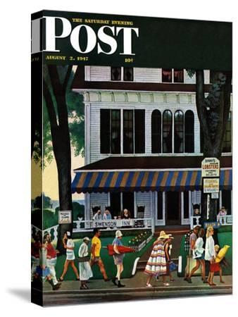 """Inn in Ogunquit,"" Saturday Evening Post Cover, August 2, 1947"