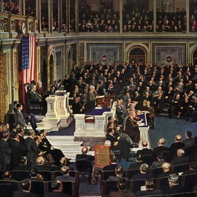 """""""Joint Session of Congress"""", January 7, 1950"""