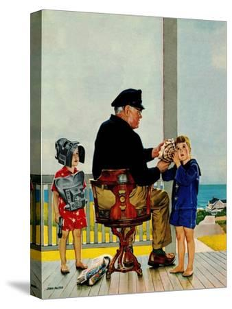 """""""Listening to the Sea"""", July 21, 1956"""