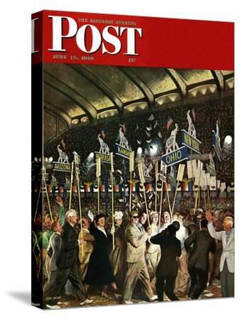 """Republican Convention,"" Saturday Evening Post Cover, June 19, 1948"