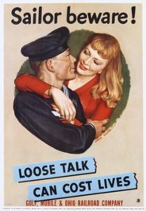 Sailor Beware! Poster by John Falter