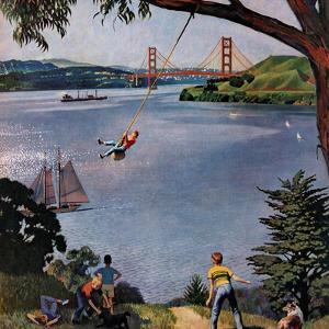 """San Francisco Bay Boys"", May 26, 1956 by John Falter"