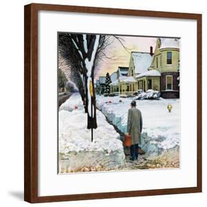 """Snowy Ambush"", January 24, 1959 by John Falter"