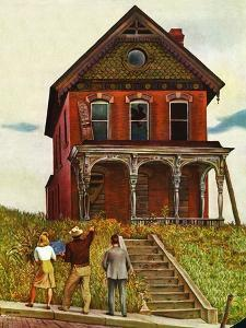 """This Old House,"" May 18, 1946 by John Falter"