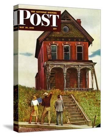 """This Old House,"" Saturday Evening Post Cover, May 18, 1946"