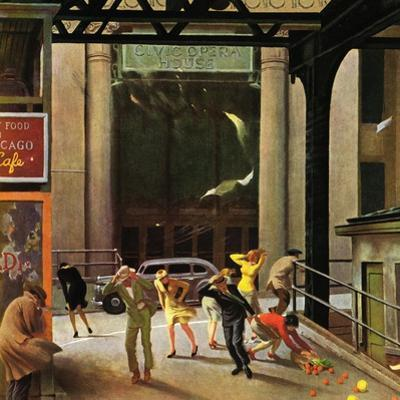 """Windy City,"" March 23, 1946 by John Falter"