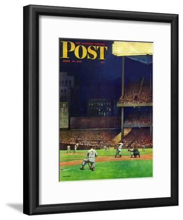 """""""Yankee Stadium,"""" Saturday Evening Post Cover, April 19, 1947"""